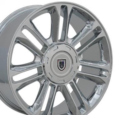 "20"" Fits Cadillac - Escalade Wheel - Chrome 20x9"