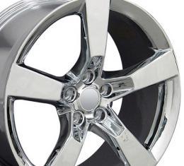 "20"" Fits Chevrolet - Camaro SS Wheel - Chrome 20x9"