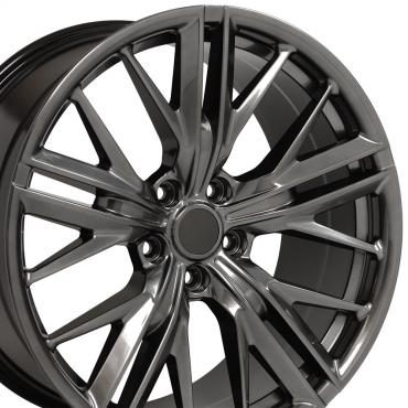 Hyper Black Wheel fits Chevrolet Camaro (ZL1 Style) - 20x8.5