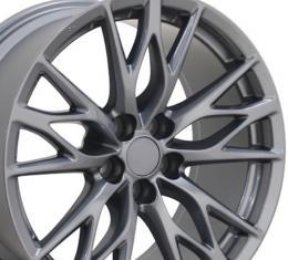 "19"" Fits Lexus - IS-F Wheel - Gunmetal 19x9"