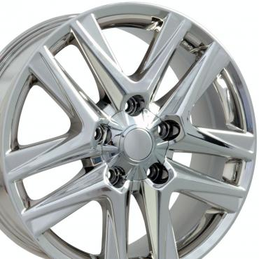 "20"" Fits Lexus - LX 570 Wheel - PVD Chrome 20x8.5"