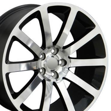 """20"""" Fits Chrysler - 300 SRT Wheel - Black 20x9"""