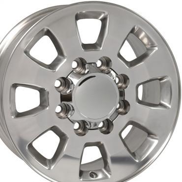 "18"" Fits GMC - Sierra 2500/3500 Wheel - Polished 18x8"