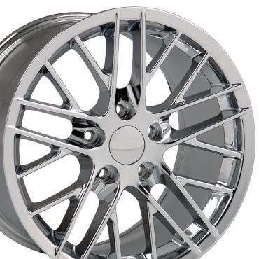 "18"" Fits Chevrolet - C6 ZR1 Wheel - Chrome 18x10.5"