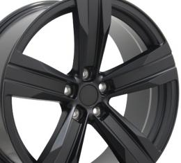 "20"" Fits Chevrolet - Camaro ZL1 Wheel - Matte Black 20x9.5"