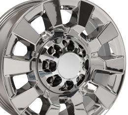 PVD Chrome Truck Rims fit GMC Sierra 2500/3500 - 20x8.5