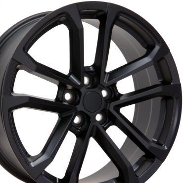 "20"" Fits Chevrolet - Camaro ZL1 Wheel - Matte Black 20x8.5"