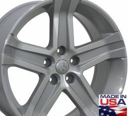 "22"" Fits Dodge - 1500 Wheel - Silver Mach'd Face 22x9"