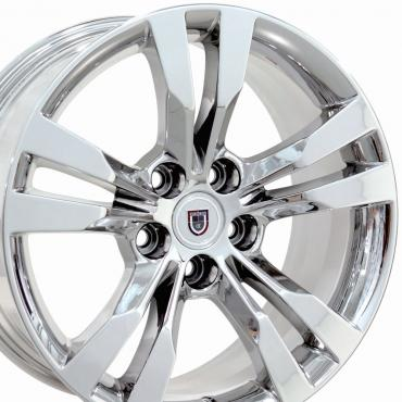 "18"" Fits Cadillac - CTS Wheel - PVD Chrome 18x9.5"