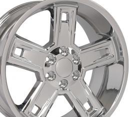 "22"" Fits Chevrolet - Silverado Deep Dish Wheel  - Chrome 22x9.5"