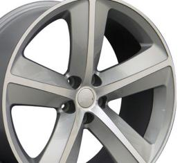 "20"" Fits Dodge - Challenger SRT Wheel - Silver 20x9"