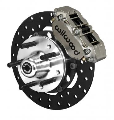 Wilwood Brakes Dynapro Lug Mount Front Dynamic Drag Brake Kit 140-14421-DN