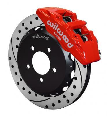 Wilwood Brakes Forged Dynapro 6 Big Brake Front Brake Kit (Hat) 140-12048-DR