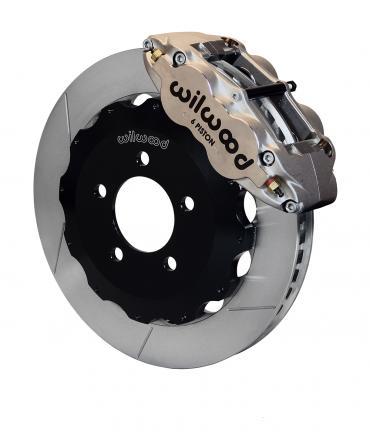 Wilwood Brakes Forged Narrow Superlite 6R Big Brake Front Brake Kit (Hat) 140-13765-N