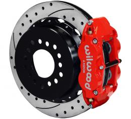 Wilwood Brakes Forged Narrow Superlite 4R Big Brake Rear Parking Brake Kit 140-9215-DR