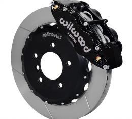 Wilwood Brakes Forged Narrow Superlite 6R Big Brake Front Brake Kit (Hat) 140-8797