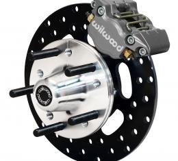 Wilwood Brakes Dynapro Single Front Drag Brake Kit 140-1016-D