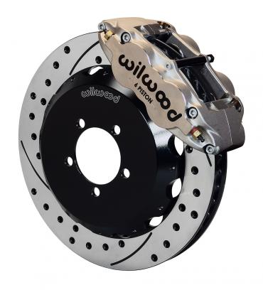 Wilwood Brakes Forged Narrow Superlite 6R Big Brake Front Brake Kit (Hat) 140-12874-DN