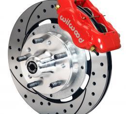 Wilwood Brakes Forged Dynalite Big Brake Front Brake Kit (Hub) 140-8582-DR