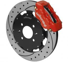 Wilwood Brakes Forged Dynalite Big Brake Front Brake Kit (Hat) 140-6163-DR