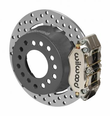 Wilwood Brakes Dynapro SA Lug Drive Dynamic Rear Drag Brake Kit 140-14139-DN