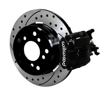 Wilwood Brakes Combination Parking Brake Caliper 1Pc Rotor Rear Brake Kit 140-12363-D