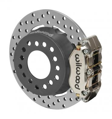 Wilwood Brakes Dynapro Dual SA Lug Drive Dynamic Rear Drag Brake Kit 140-12552-DN