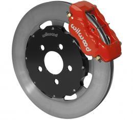 Wilwood Brakes Forged Dynalite Big Brake Front Brake Kit (Hat) 140-6376-R