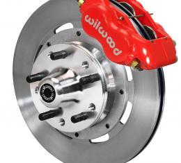 Wilwood Brakes Forged Dynalite Big Brake Front Brake Kit (Hub) 140-8582-R