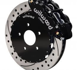 Wilwood Brakes Forged Narrow Superlite 6R Big Brake Front Brake Kit (Hat) 140-8921-D