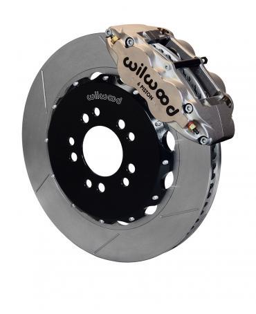 Wilwood Brakes Forged Narrow Superlite 6R Big Brake Front Brake Kit (Hat) 140-13766-N
