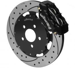 Wilwood Brakes Forged Dynalite Big Brake Front Brake Kit (Hat) 140-6376-D