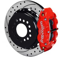 Wilwood Brakes Forged Narrow Superlite 4R Big Brake Rear Parking Brake Kit 140-9222-DR