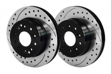 Wilwood Brakes 1965-1982 Chevrolet Corvette Promatrix Front and Rear Replacement Rotor Kit 140-11727-D