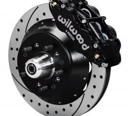 Wilwood Brakes Forged Narrow Superlite 6R Big Brake Front Brake Kit (Hub) 140-9802-D