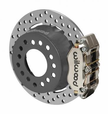 Wilwood Brakes Dynapro Dual SA Lug Drive Dynamic Rear Drag Brake Kit 140-14140-DN