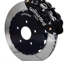 Wilwood Brakes 2002-2006 Mitsubishi Lancer Forged Narrow Superlite 6R Big Brake Front Brake Kit (Hat) 140-9285