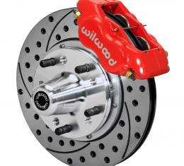 Wilwood Brakes Forged Dynalite Pro Series Front Brake Kit 140-11491-DR