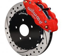 Wilwood Brakes 2002-2006 Mitsubishi Lancer Forged Narrow Superlite 6R Big Brake Front Brake Kit (Hat) 140-9285-DR