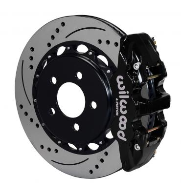 Wilwood Brakes 2010-2017 Chevrolet Camaro AERO4 Big Brake Rear Brake Kit For OE Parking Brake 140-11270-D