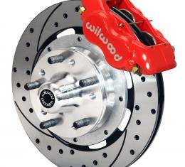 Wilwood Brakes Forged Dynalite Big Brake Front Brake Kit (Hub) 140-7017-DR