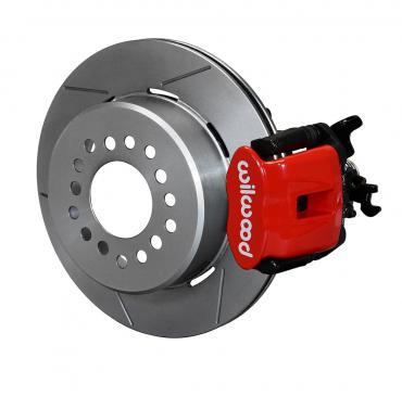 Wilwood Brakes Combination Parking Brake Caliper 1Pc Rotor Rear Brake Kit 140-12363-R