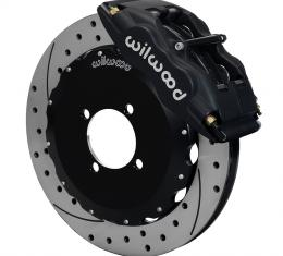 Wilwood Brakes Forged Superlite 4 Big Brake Front Brake Kit (Hat) 140-8335-D