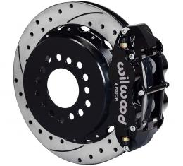 Wilwood Brakes Forged Narrow Superlite 4R Big Brake Rear Parking Brake Kit 140-9218-D