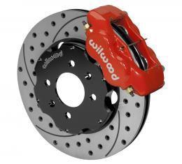 Wilwood Brakes Forged Dynalite Big Brake Front Brake Kit (Hat) 140-8695-DR