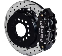 Wilwood Brakes Forged Narrow Superlite 4R Big Brake Rear Parking Brake Kit 140-9213-D