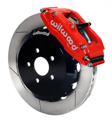 Wilwood Brakes Superlite 6 Big Brake Front Brake Kit (Hat) 140-7005-R