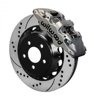 Wilwood Brakes AERO6 Big Brake Front Brake Kit 140-13886-DN