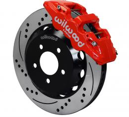 Wilwood Brakes 2010-2015 Chevrolet Camaro AERO6 Big Brake Front Brake Kit 140-11269-DR