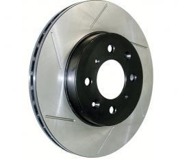 Stop Tech / Power Slot 126.66025SR, Brake Rotor, SportStop (R) Slotted, Silver E-Coated, Alloy, Single